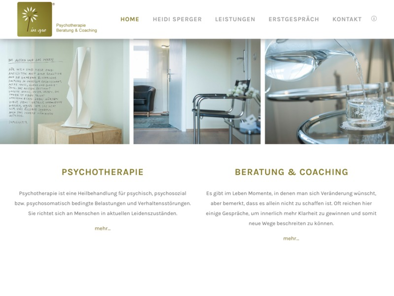 In Spe - Psychotherapie und Coaching