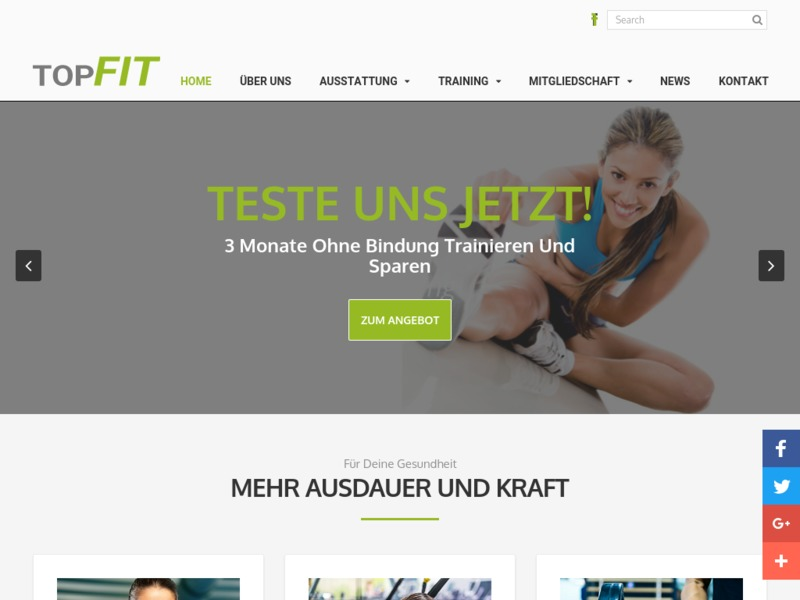 Fitnesscenter TOP FIT