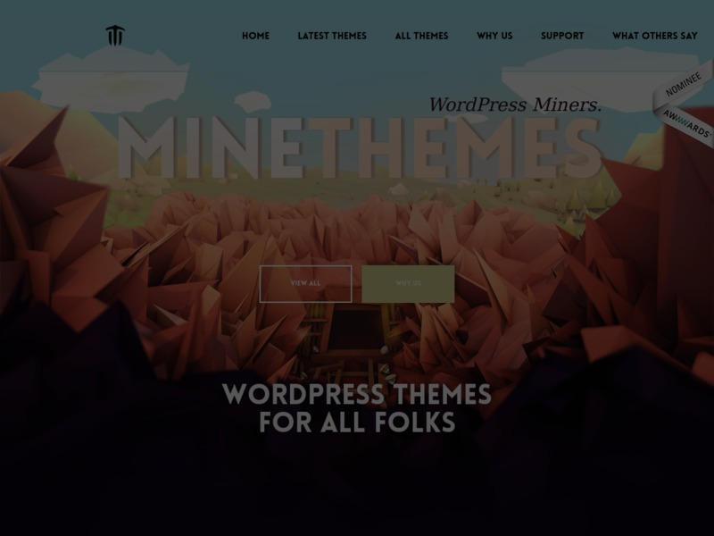 MineThemes - Premium Magnetic WordPress Themes