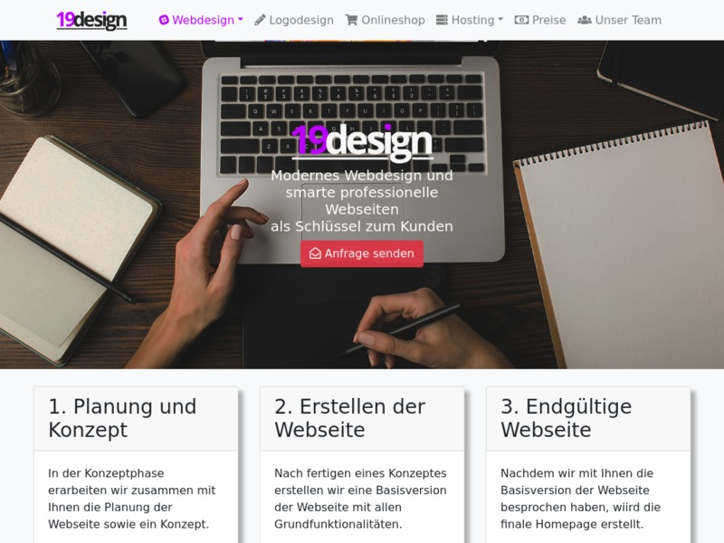 Qualitatives Webdesign und professionelle Webseiten