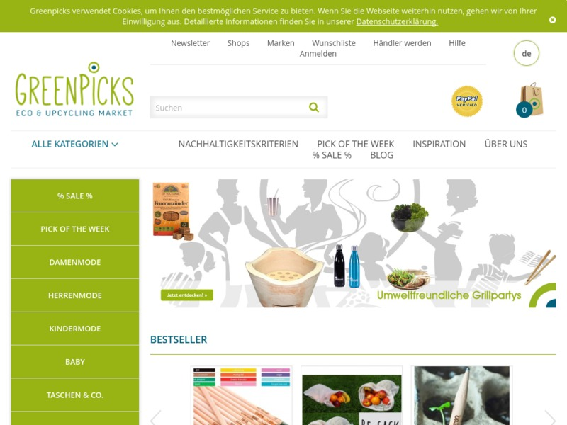 Greenpicks – Eco & Upcycling Market