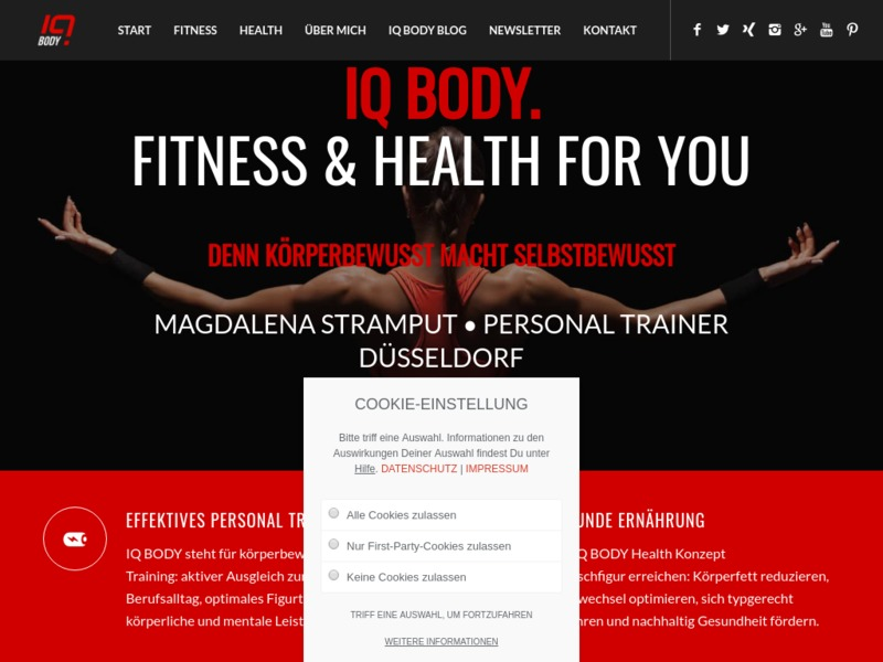 IQ BODY FITNESS & HEALTH FOR YOU