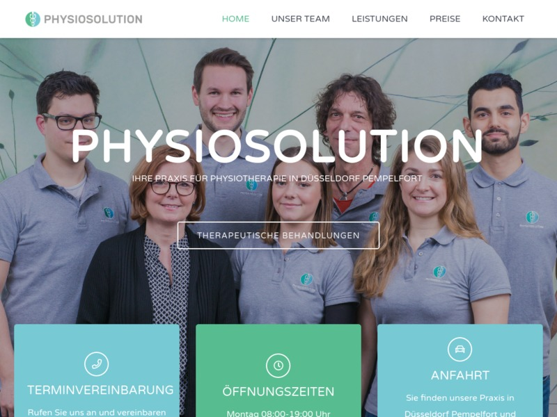 PHYSIOSOLUTION - PRAXIS FÜR PHYSIOTHERAPIE