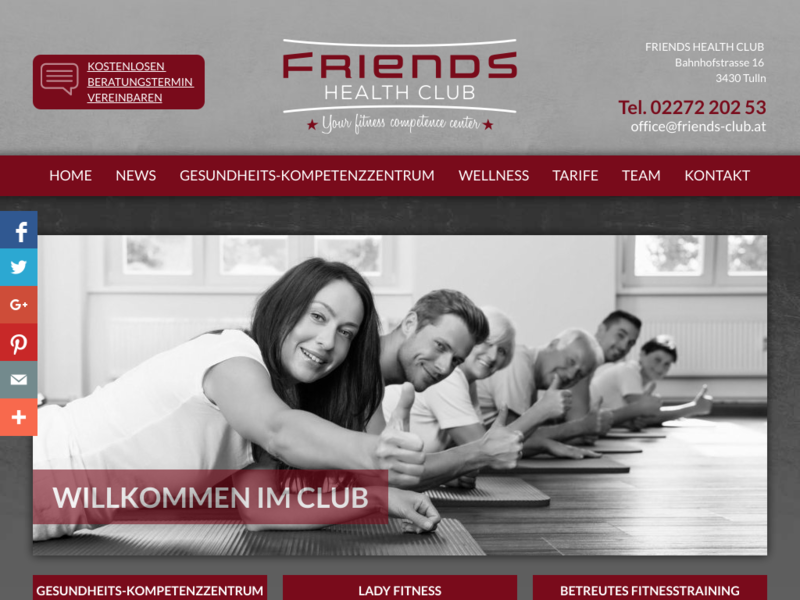 FRIENDS HEALTH CLUB