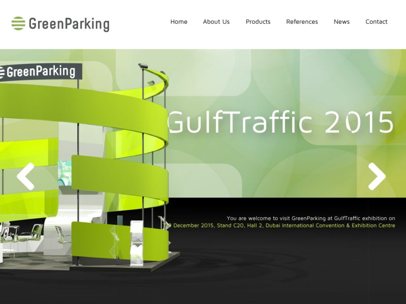 Webdesign GreenParking