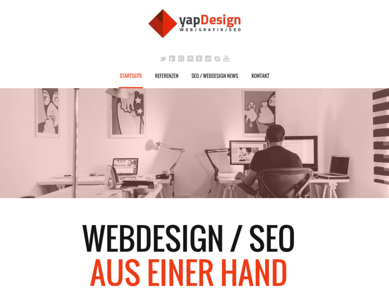 yapDesign - SEO & Webdesign in Hamburg