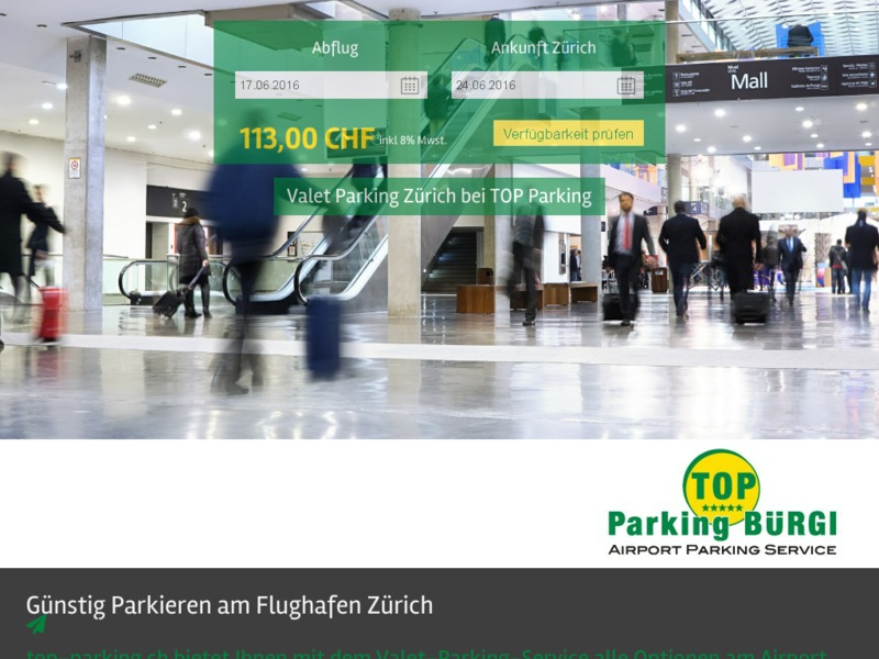 TOP Parking Bürgi AG Zürich